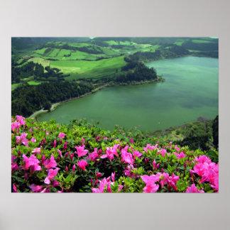 Lagoa das Furnas - Açores Poster