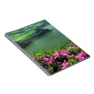 Lagoa das Furnas - Açores Spiral Note Books
