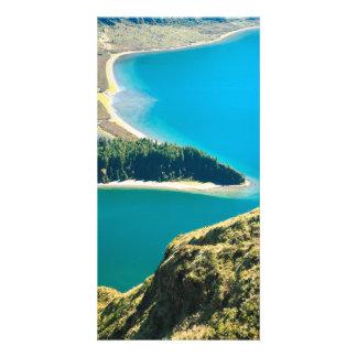 Lagoa do Fogo Photo Card Template
