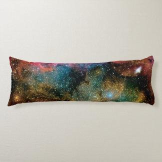 Lagoon Emission Nebula Interstellar Cloud Photo Body Cushion