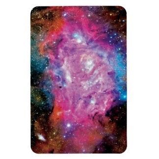 Lagoon Nebula NGC 6523 Rectangular Photo Magnet