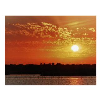 Lagoon Sunset, Dec 31, 2010 Postcard