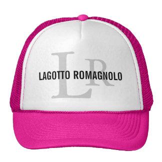 Lagotto Romagnolo Breed Monogram Cap
