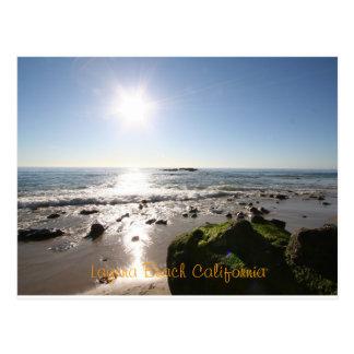 Laguna Beach Ca Postcard