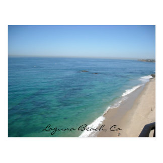 Laguna Beach, Ca Postcard