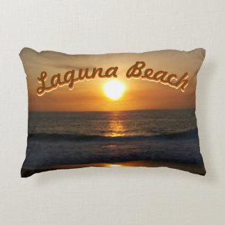 Laguna Beach, CA Sunset Decorative Cushion