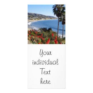 Laguna Beach Californien Rack Card Design