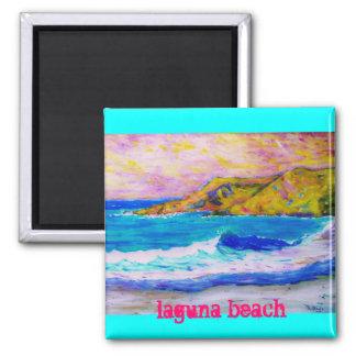 laguna beach slogan magnet