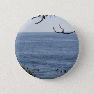 laguna beach surf 6 cm round badge