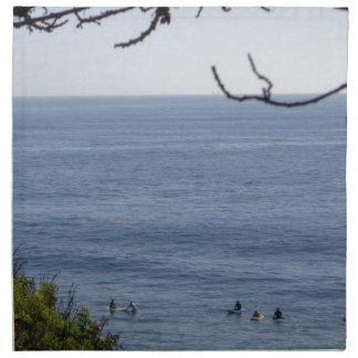laguna beach surf napkin