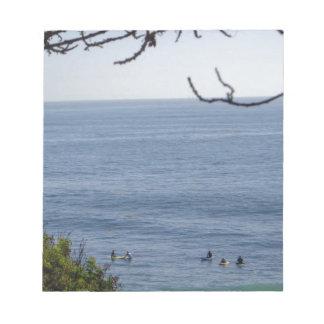 laguna beach surf notepads