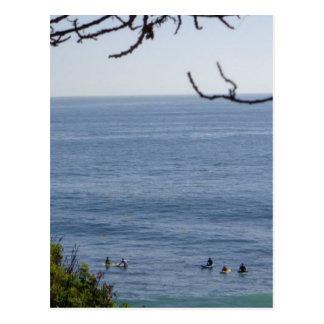 laguna beach surf postcard