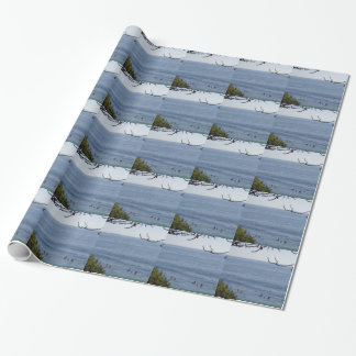 laguna beach surf wrapping paper