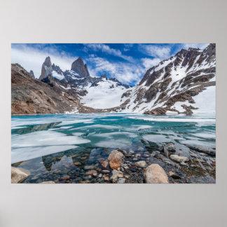 Laguna De Los Tres And Mount Fitzroy Poster