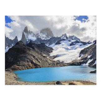 Laguna De Los Tres,  Los Glaciares National Park Postcard