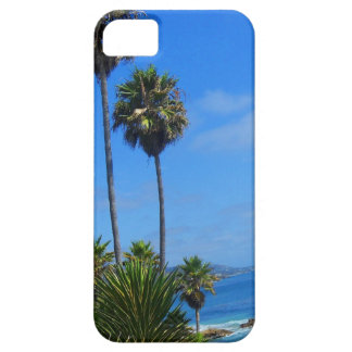 Laguna Palm Trees and Ocean Bliss iPhone 5 Cases