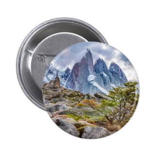 Laguna Torre El Chalten Argentina 6 Cm Round Badge