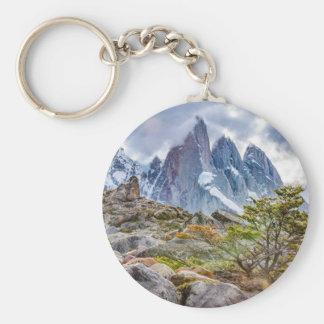 Laguna Torre El Chalten Argentina Key Ring