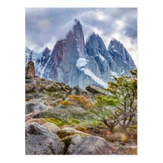 Laguna Torre El Chalten Argentina Postcard
