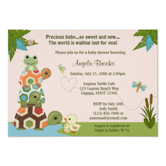 Laguna Turtle Baby Shower Invitation LTC