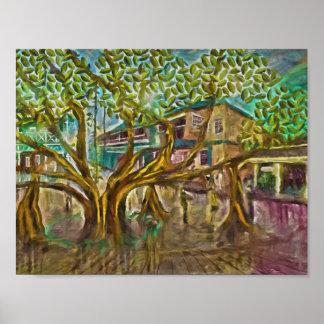 Lahaina Banyan Tree Of Life Poster