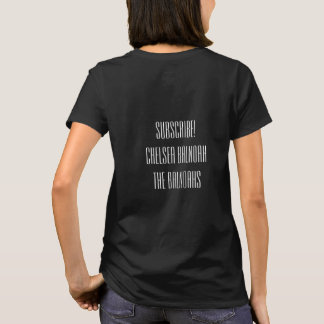 Laidies, Medium, Basic Tee, Black, CHELSEA BALNOAH T-Shirt
