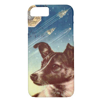 Laika The Russian Space Dog iPhone 7 case