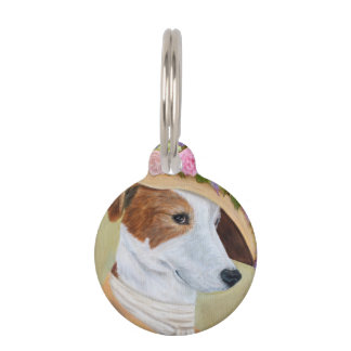 Laika the Victorian Pooch Pet Name Tag