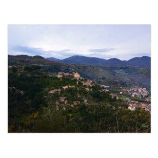 Laino Castello Calabria Postcard