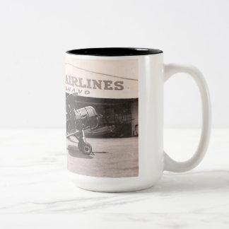 Laird LCW300, NC14803 Boston Airport Two-Tone Coffee Mug