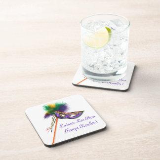 Laissez Les Bon Temps Rouler Beverage Coaster