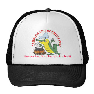 """""""Laissez Les Bon Temps Rouler!!! Mesh Hats"""
