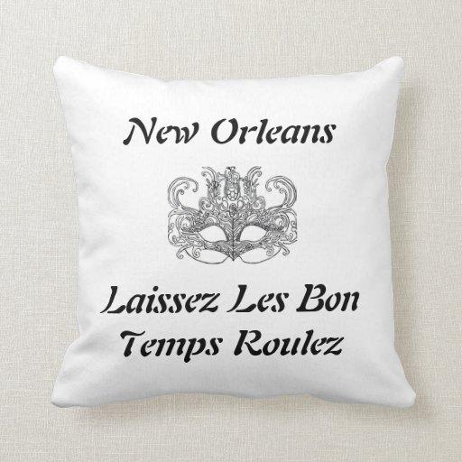 Laissez Les Bon Temps Roulez pillow