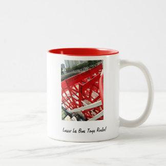 Laissez les bons temps rouler! Two-Tone coffee mug