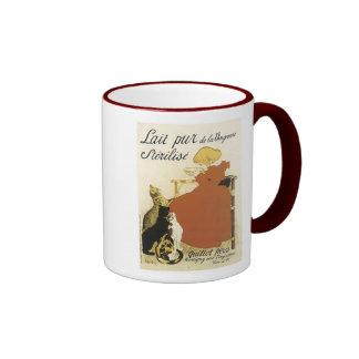 Lait pur de la Vingeanne Sterilise Ad - Child with Coffee Mug