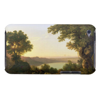 Lake Albano, Italy, 1777 (oil on canvas) iPod Touch Case