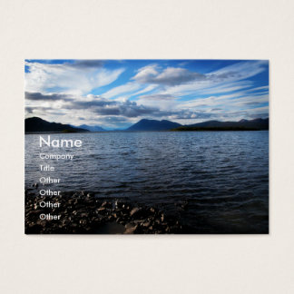 Lake Aleknagik Business Card