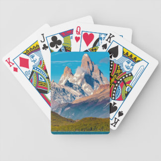 Lake and Andes Mountains, Patagonia - Argentina Bicycle Playing Cards