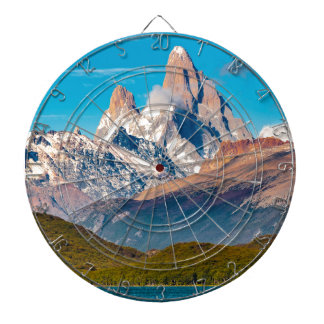 Lake and Andes Mountains, Patagonia - Argentina Dartboard