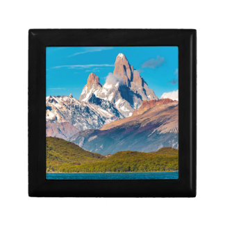 Lake and Andes Mountains, Patagonia - Argentina Gift Box