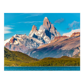Lake and Andes Mountains, Patagonia - Argentina Postcard
