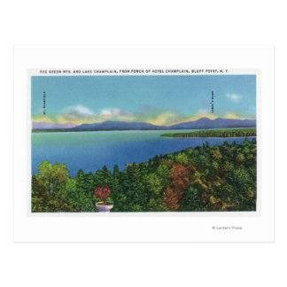 Lake and Green Mountains Postcard