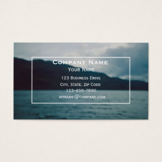 Lake and Mountains Business Card