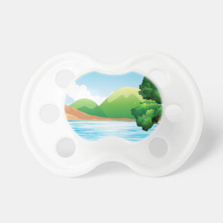 Lake and park baby pacifier