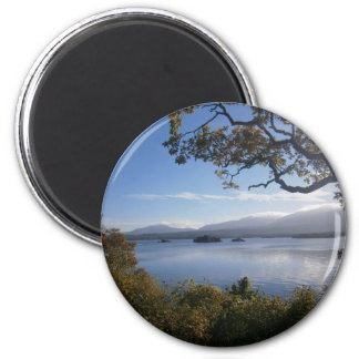 lake and trees.JPG Magnet