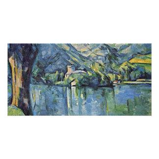 Lake Annecy By Paul Cézanne (Best Quality) Custom Photo Card