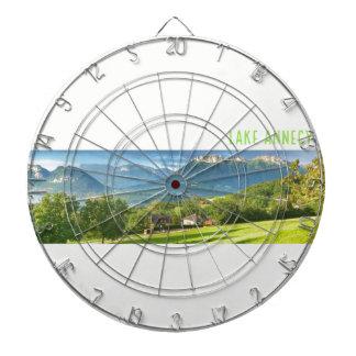 Lake Annecy Dartboard