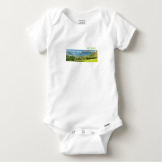 Lake Annecy Gerber Baby Vest Baby Onesie