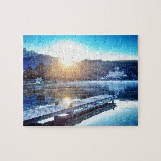 Lake Annecy, Menthon Saint Bernard - Haute-Savoie Jigsaw Puzzle