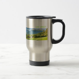 Lake Annecy Travel/Commuter Mug
